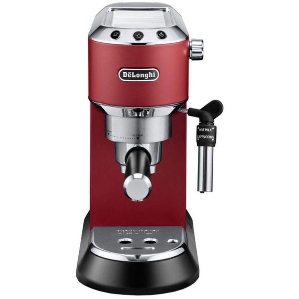 Кафемашина DeLonghi EC 685.R, Ръчна, 1300 W, 15 бара, 1.1 л, Червена, 411912